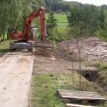 Bau Bollert-Teich